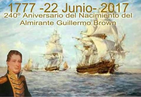 Acto 240 Años de Almirante Brown