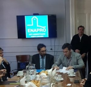 Firma Convenio con ENAPRO
